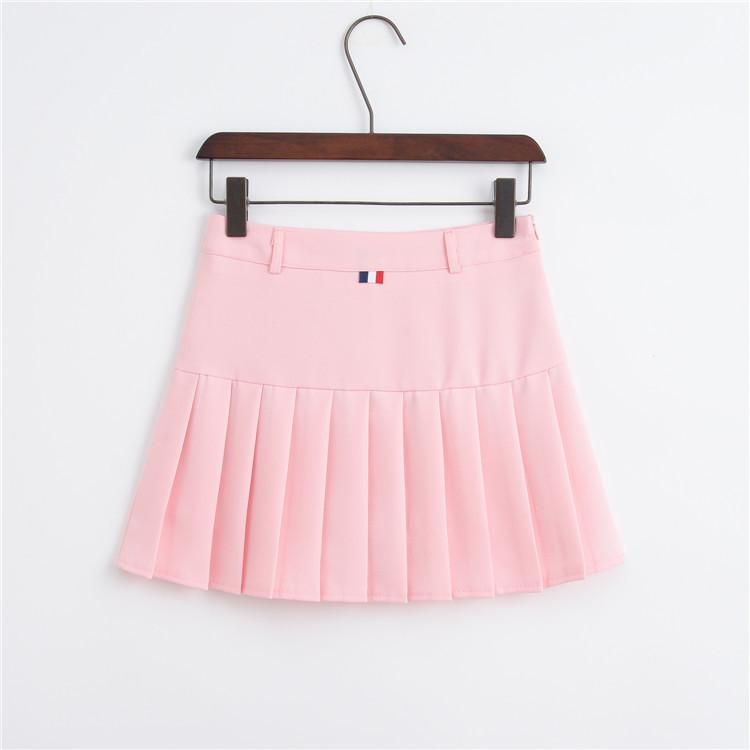 f5ed0d629c 2019 Women Tennis Skirt Pleated Quick Dry Running Sports Skirt School  Breathable Badminton Skorts With Safety Pants Sports Clothing From  Enhengha, ...