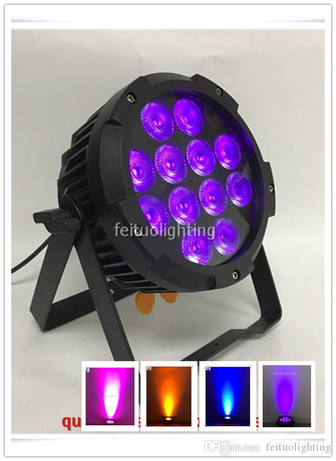 10x Battery Powered Par light 12x12W RGBAW UV with Wireless system, wifi controller IP65 APP control for stage, show, Party
