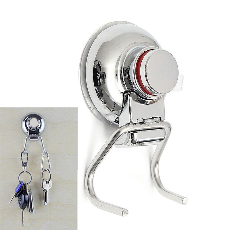 Best Removable Wall Strong Suction Cup Hook Hangers Stainless Steel Double Vacuum Hanger For Bathroom Kitchen Under 2027