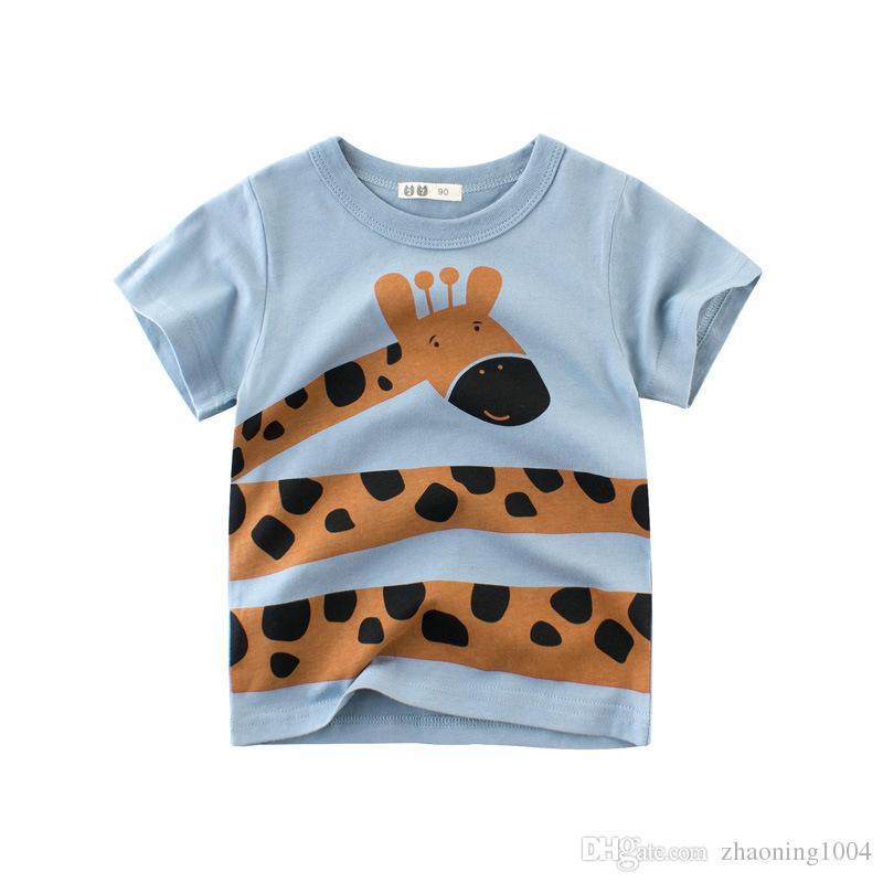 Designer Fashion Kids Clothing Children T shirt Baby Boy Girl Clothes For Summer Infant Clothing Toddler Kid Big Boy Girl Clothes