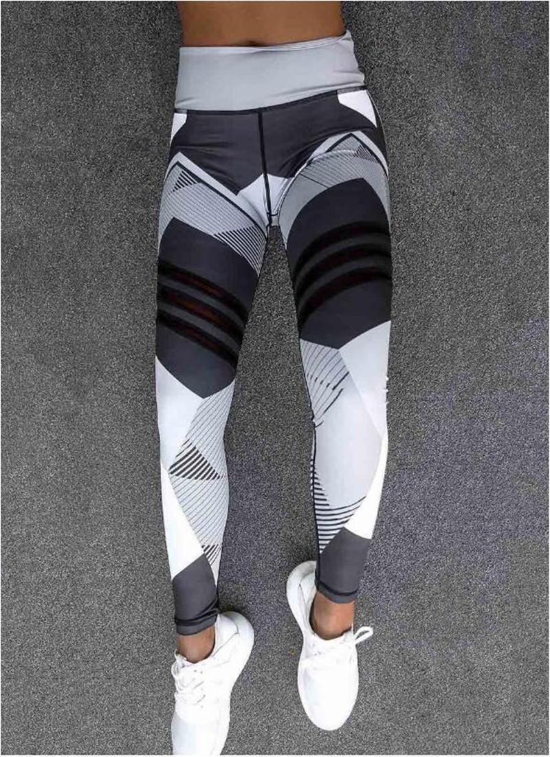 оптовые женщины одежды 2018 Женщины Спорт Compression поножи Эластичных Лоскутные Брюки для Running Gym Фитнеса Сухих Быстрых тренировок Pant