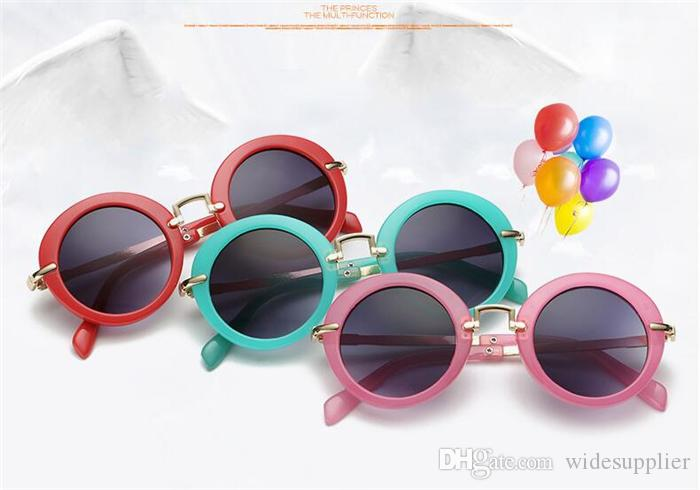 New Kids sunglasses Cute Sunglasses for baby girls boys sunglasses UV400 fashion glasses wholesale 8223