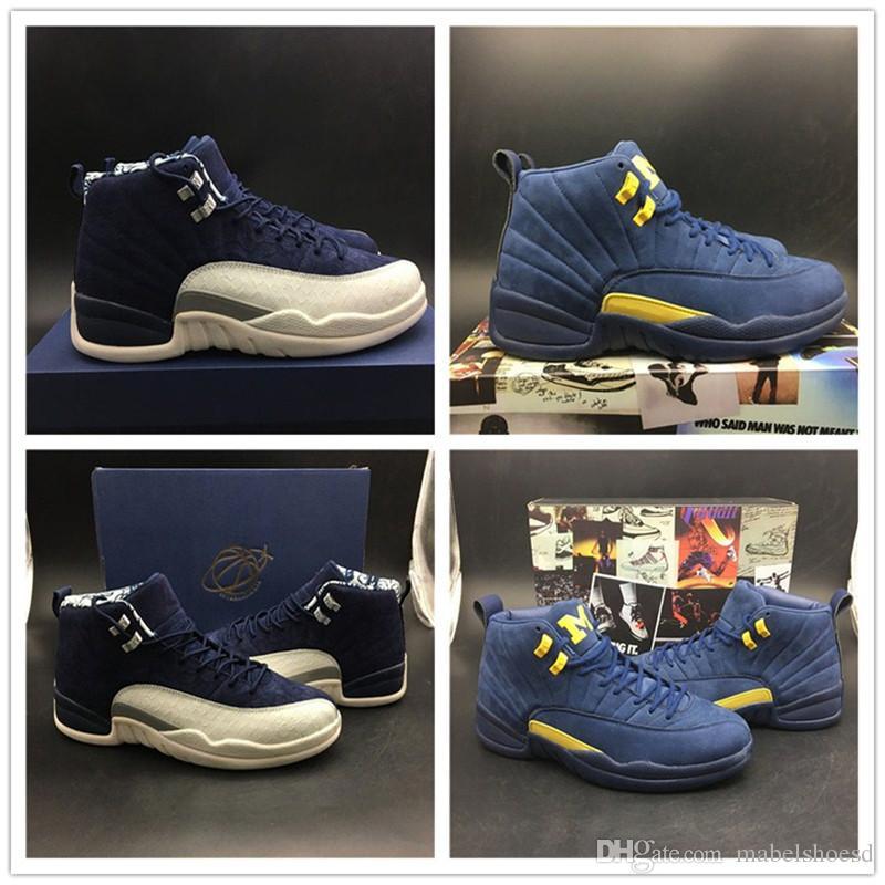 e793e2e1c691a4 2018 Newest 12s Mans Basketball Shoes International Flight And ...