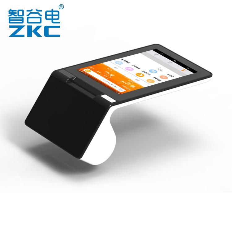 Android 7 3G WIFI NFC reader QR code scanner receipt printer all in one NFC  Payment mobile terminal