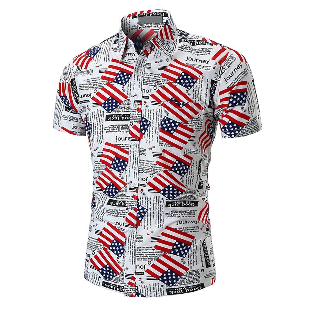 c6b37679f Men Summer Breathable Newspaper Print T Shirt HipHop Short Sleeve T Shirts  Harajuku American Flag Printed Shirts For Men Buy Shirt Ti Shirt From  Marryone, ...