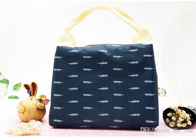 Creative Cartoon Flamingo Insulation Bags Food Fruit Keeping Fresh Bags Portable Student Heat Preservation Lunch Bag Gift Customization