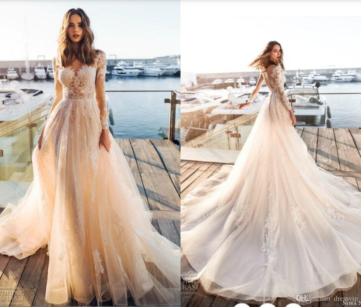 Vestido de novia verano 2019