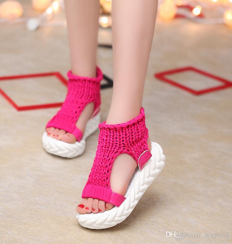 51addcd13 Designer Women Thick Heel Sandals Summer Platform Casual Shoes ...