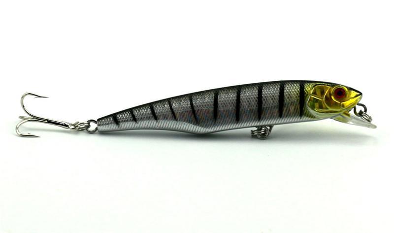 New Trolling dive curve Swimming flicker plastic Crankbait Laser fishbait 10.5cm 15.5g Minnow wobbler Fishing Lure