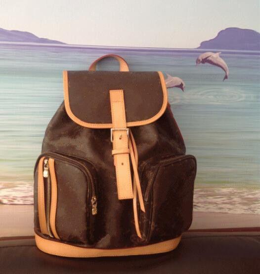 4c42045160 2018 Brand Designer PU Leather Men Women S Backpack BOSPHORE 40107 Backpack  Ladies Backpack Satchels Travel Bags Luxury Brand School Bag Red Handbags  Pink ...