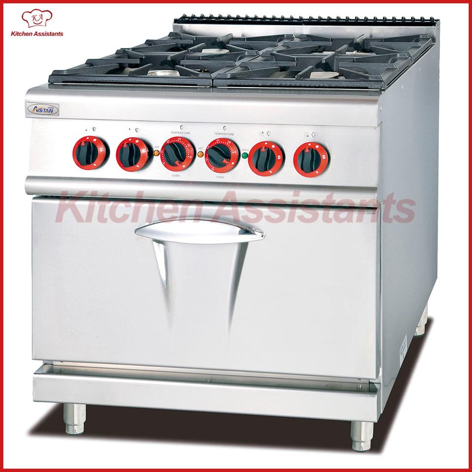 2019 Gh987b Gas Range With 4 Burner Stove With Electric Oven Of Catering Equipment From Aistan_kitchen 2294 87 Dhgate Com