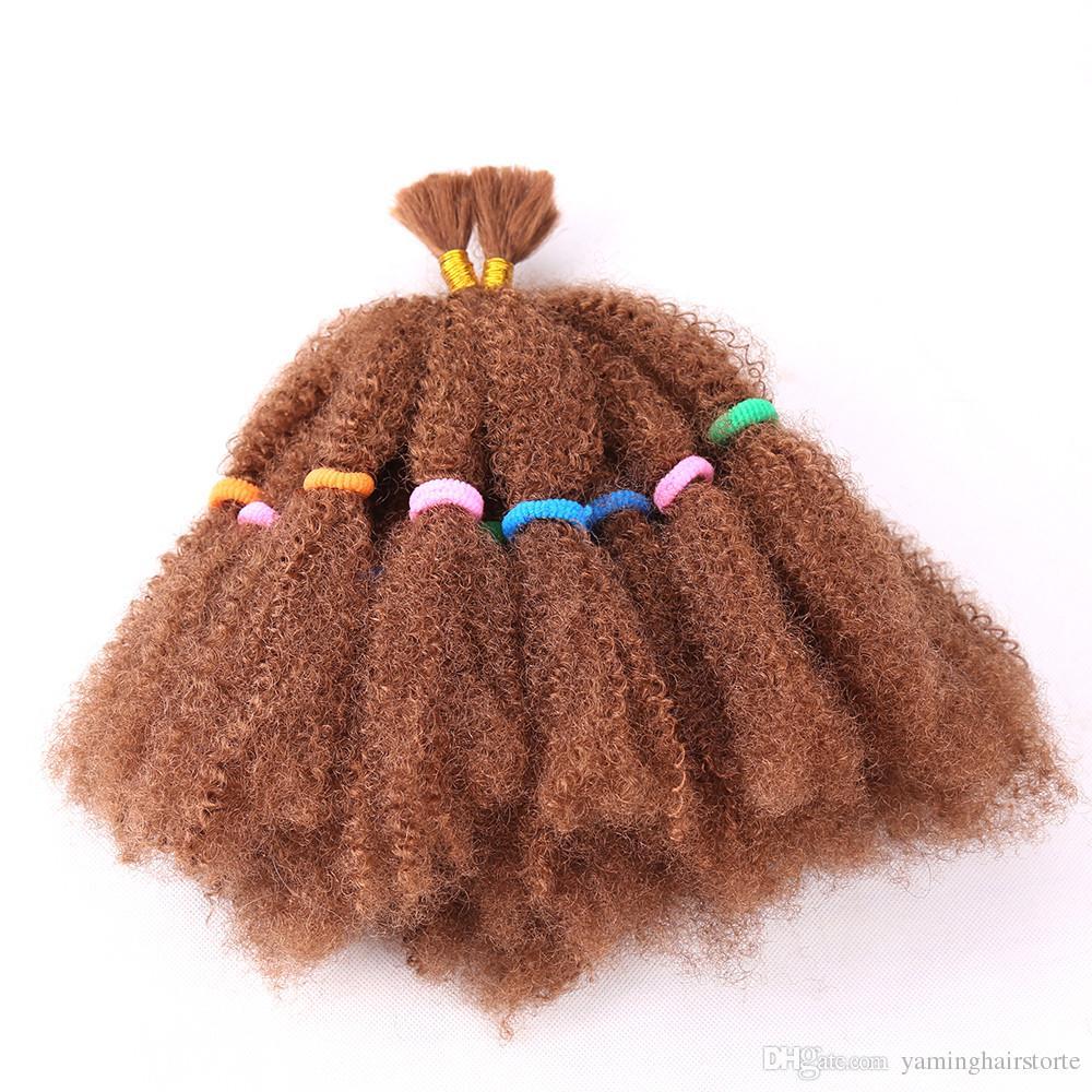 Cheveux synthétiques de torsion méga Afro de mode 22