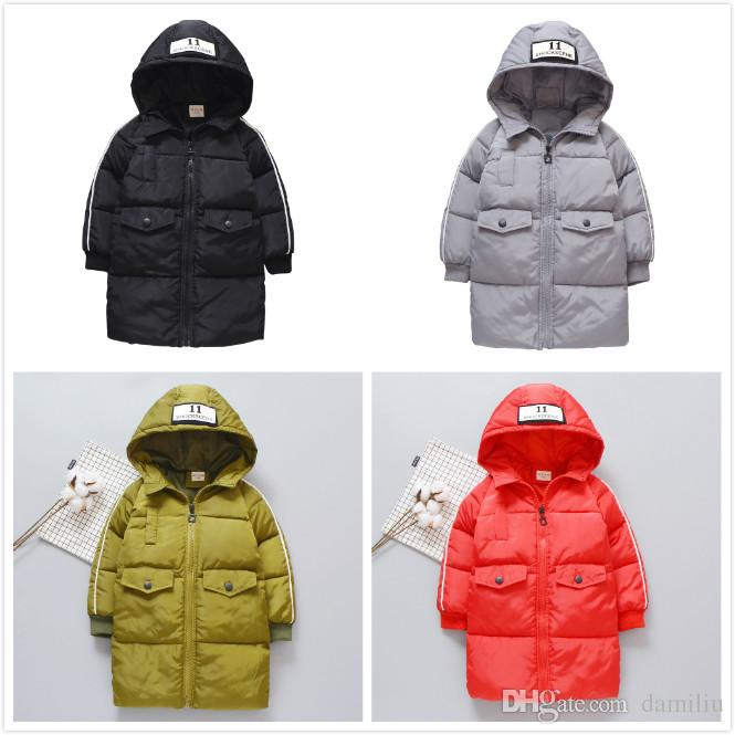 844d5efb7cb2 Baby Girls Boys Winter Warm Jacket Children s Hooded Outwear Down ...
