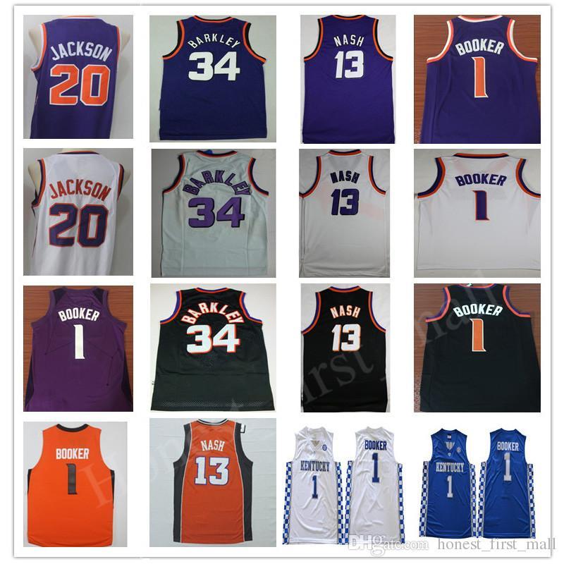 77bbb5b5b11 ... best 2018 devin booker jersey city edition ncaa college kentucky  wildcats basketball jersey 34 charles barkley