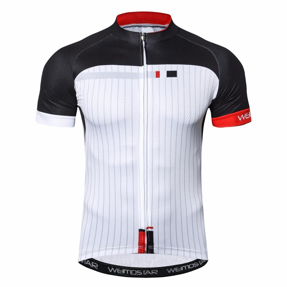 b890104da Weimostar White Cycling Jersey Shirt Breathable Short Sleeve Men S Cycling  Clothing Pro Team MTB Bicycle Jersey Mens Long T Shirts Bicycle From  Pretty05
