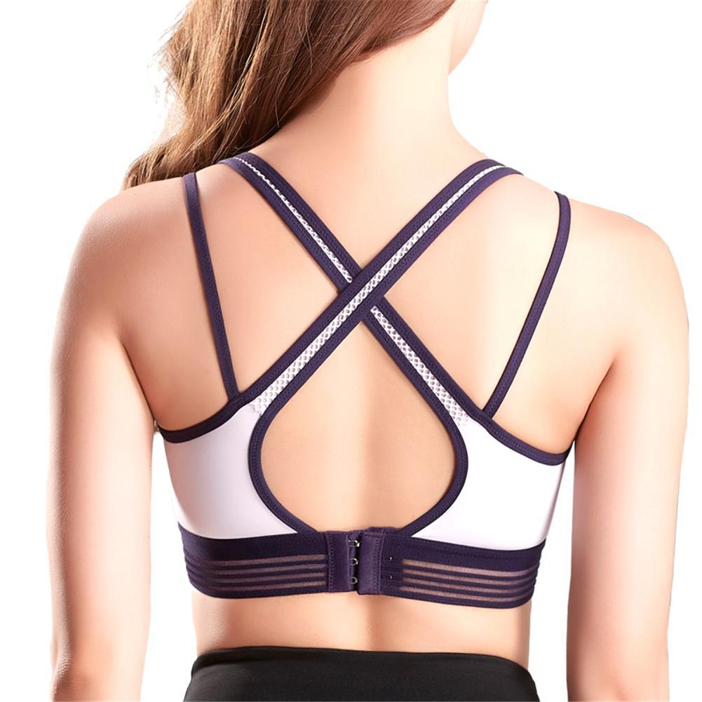 6e726f1af7139 2019 Women Ladies Newest Quick Drying Sports Running Underwear Breathable  Yoga Fitness Two Color Sports Bra Nylon Hollow Bras From Jinzoug