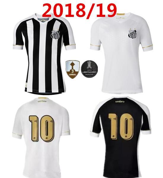 2018 2019 Camiseta De Fútbol Del Santos FC 18 19 Santos En Casa Lejos  Gabriel RODRYGO DODO RENATO SASHA Camisetas De Fútbol Por Minghao666 38f8dadfb687f