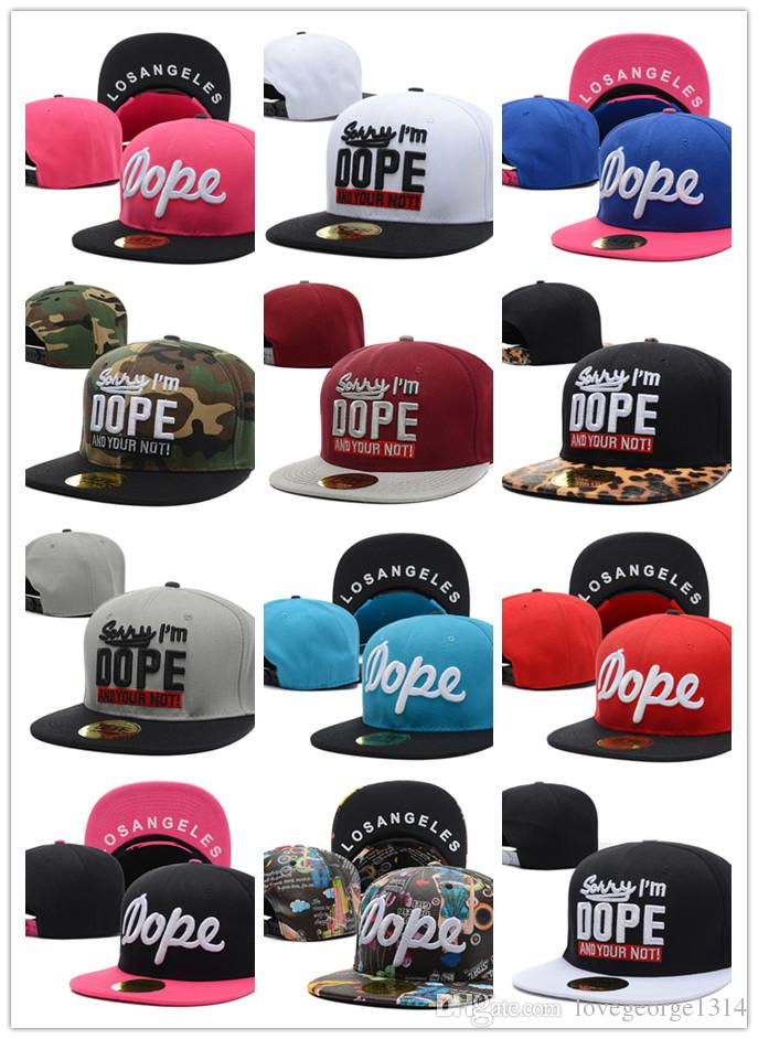 Wholesale Dope Baseball Caps Embroidery Hats Fashion White Black Outdoor  Snapbacks Sports Hip-Hop Caps Adjustable Hats For Men Sports Caps Online  with ...