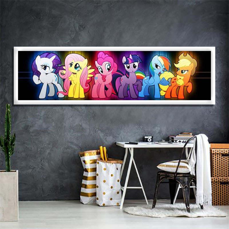2019 Miaodu Children Room Diy My Little Pony Effect Decorate Diamond