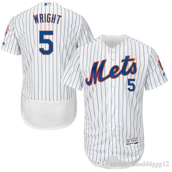 sports shoes b3b78 1d22a 2018 Men's New York Mets #5 David Wright Jersey
