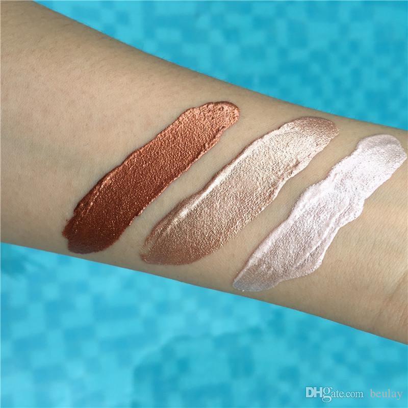 Beauty Glazed Liquid Glow 3D Highlighter 15ml Pearl Bronze Concealer Cream School Students Makeup