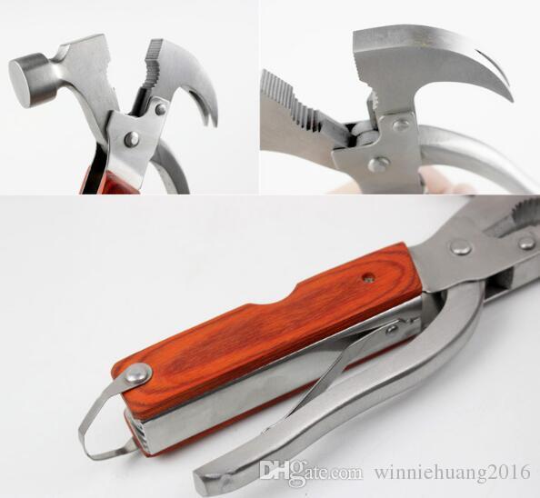 3 Modelleri multi-fonksiyonel Katlanır Balta Çekiç Kamp Balta Yürüyüş Testere Bıçağı Kurtarma bıçak Askeri Avcılık Bıçak Aracı