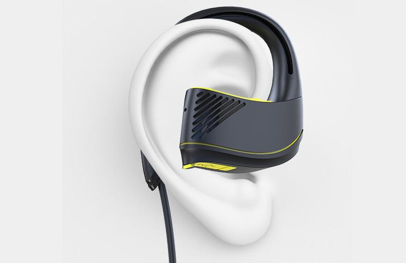 a51475eb5d0 FIT Wireless Bluetooth Workout Headphones Waterproof Sports Headphones For  Running And Workout, Green With 8 Hour Razer Headphones Wireless Tv  Headphones ...
