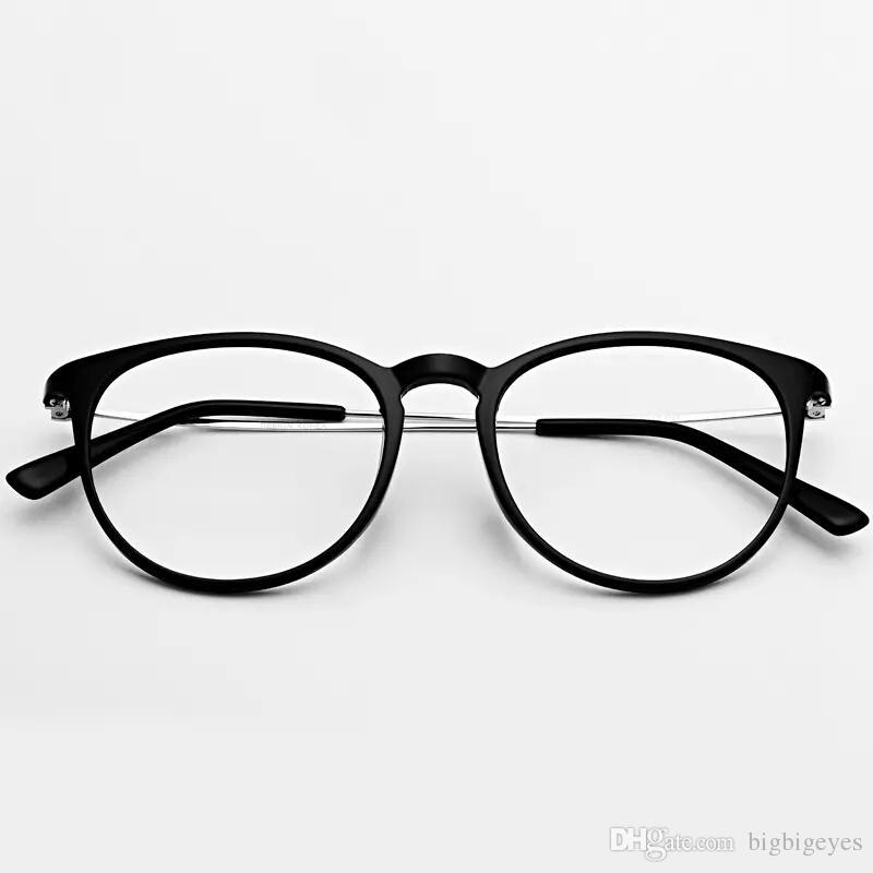 Großhandel Runde Myopie Brille Rahmen Full Frame Schwarz Leichte ...