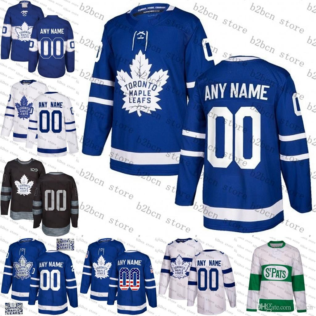 2019 Custom Toronto Maple Leafs Men Women Youth Matthews Tavares ... f8b685717