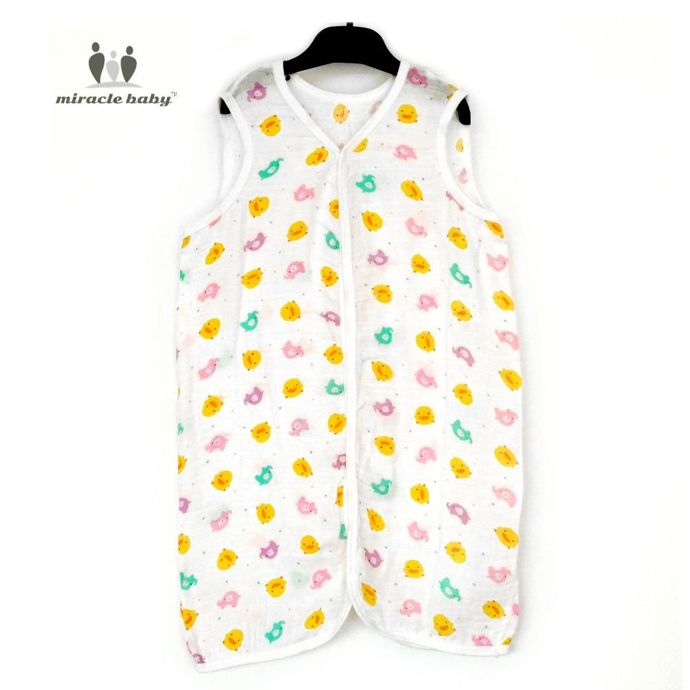 Miracle Baby 70 Bamboo 30 Cotton Muslin Soft Vest Sleeping Bag