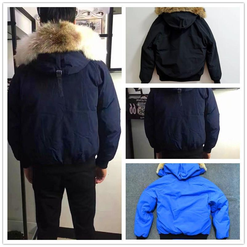 2019 Winter Down Parkas Hoody Canada Bomber Jackets Zippers Brand