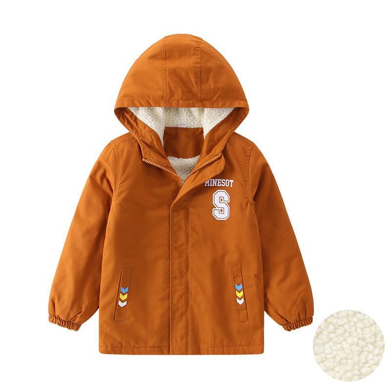 898ada74c Big Boys Jacket Fleece Winter Coats Kids 2018 Thicken Warm Hooded ...