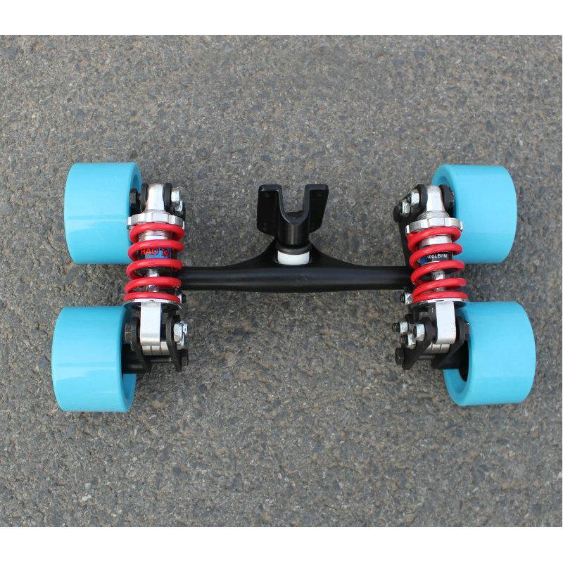 Cheap Electric Skateboard >> 2019 Electric Skateboard Truck Aluminum Bridge New 4 Wheels