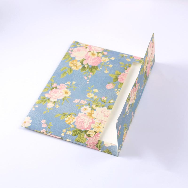 Acheter Set Vintage Floral Mini Enveloppe Enveloppes En Papier De