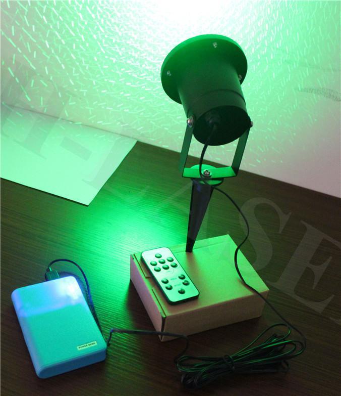 Projecteur extérieur de lumière laser de paysage vert de ciel étoilé de projecteur de jardin imperméable de jardin éclairant Lazer avec à distance