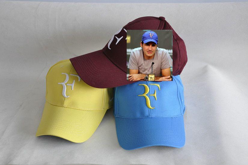 495babcc2 2019 Men Summer Cool Mesh Caps Roger Federer RF Tennis Fans Caps ...