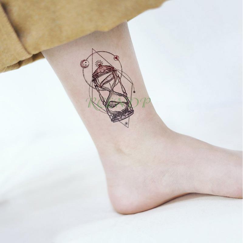 Etiqueta Engomada Del Tatuaje Temporal Impermeable Estrella De La