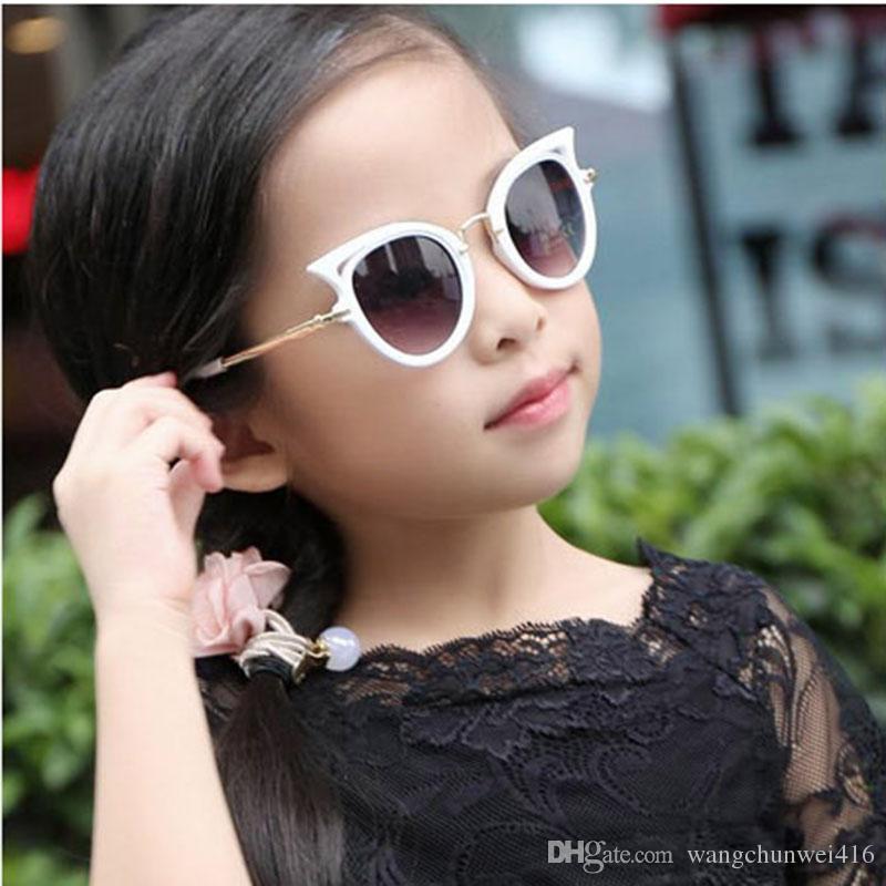 ae4bc20666 Compre Gafas De Sol Para Niños Gafas De Sol Para Niñas Gafas Ojo De Gato  Gafas Para Niños Lentes UV400 Bebé Gafas Para Sol Gafas Lindas Gafas Gafas  es ...