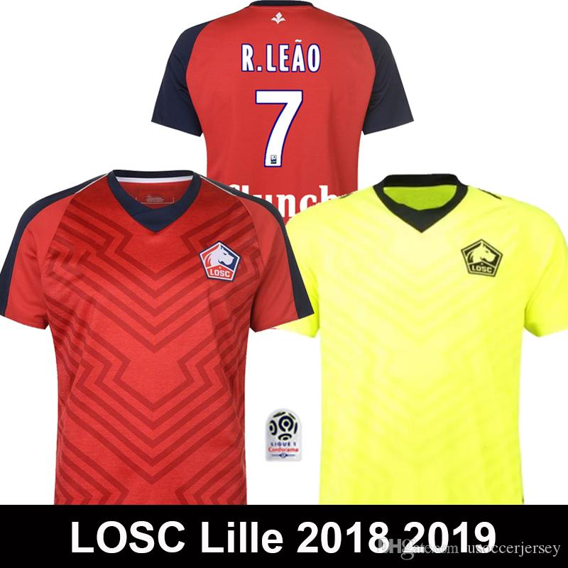 2019 AAA 2018 2019 LOSC Lille Soccer Jerseys PEPE REMY Maillot BAMBA R.  LEAO Football Shirt 18 19 Lille Olympique Sporting Maillot De Foot From ... 27ca881f940a9