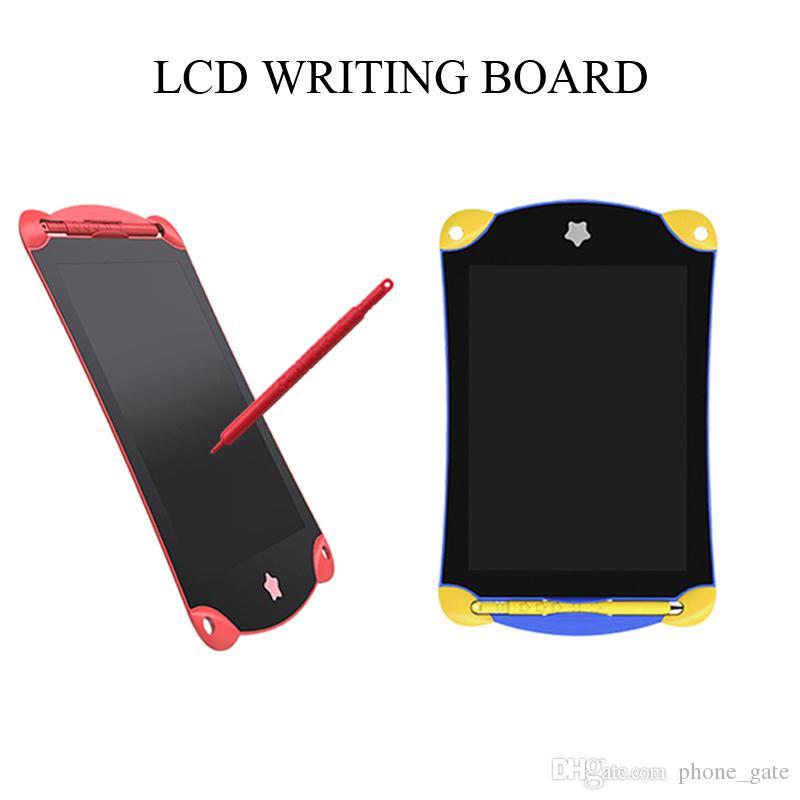 Tablette d'écriture d'affichage à cristaux liquides de 8,5 pouces Tablette de dessin portable de Digital Tablettes d'écriture manuscrite Tablette électronique Conseil d'écriture pour adultes Enfants Enfants étudiant