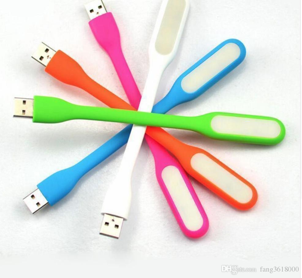 USB mini LED leer Computer lámpara de luz ultra brillante flexible para PC portátil Power Bank socio de la computadora portátil de la tablilla C1