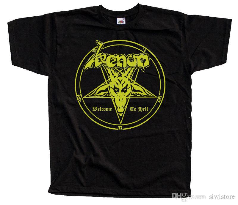 c12ea28c3266 Venom Welcome To Hell, Album Cover, 1981 T SHIRT DTG BLACK S 5XL Fun Tshirts  Party T Shirts From Siwistore, $10.53| DHgate.Com