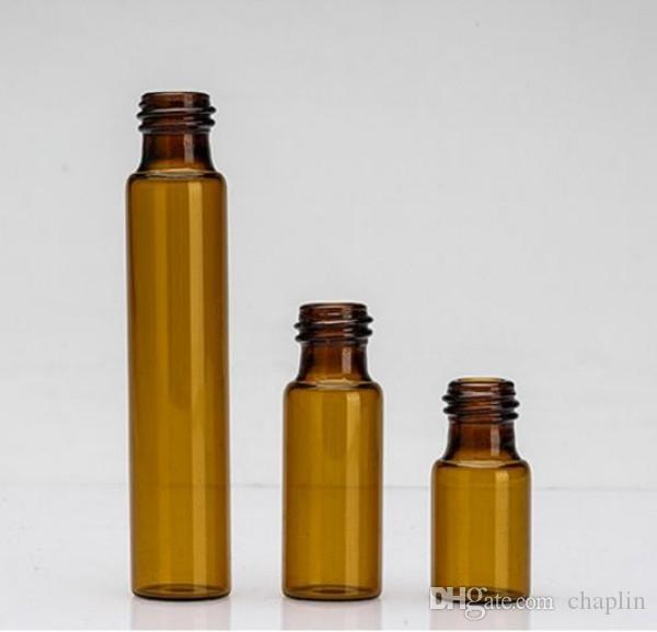 أمبر 3ML 5ml 10ml لفة على زجاجة مع قنينة روللون روللون