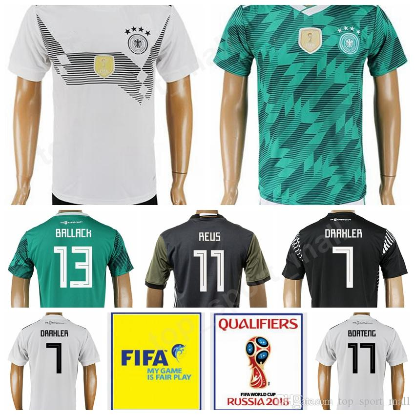 World Cup 2018 Germany Soccer 13 Gerd Muller Jersey Custom Thai Men ... e3a3d93a3