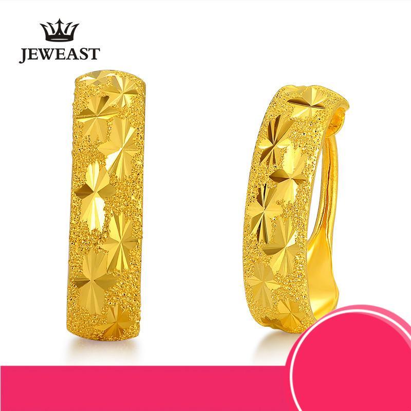 ab43ec318dfd Großhandel 24k Pure Gold Ohrring Echte 999 Solid Gold Ohrringe Schöne  Gypsophila Upscale Trendy Klassische Edlen Schmuck Hot Sell New 2018 Von  Kuchairly, ...