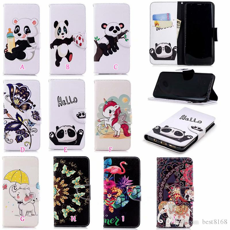 Flip Cases Panda Owl Butterfly Pu Leather Wallet Flip Case For Xiaomi Redmi Note 5a Silicone Wallet Stand Case For Redmi Note 5a Prime Cellphones & Telecommunications