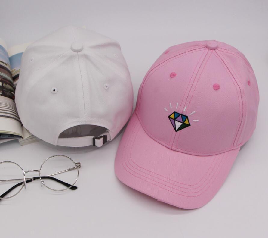 New 2018 Snapback Caps & Hats Diamond Snapbacks Snap Back Brand Hat Men Women Baseball Cap Black online Sale