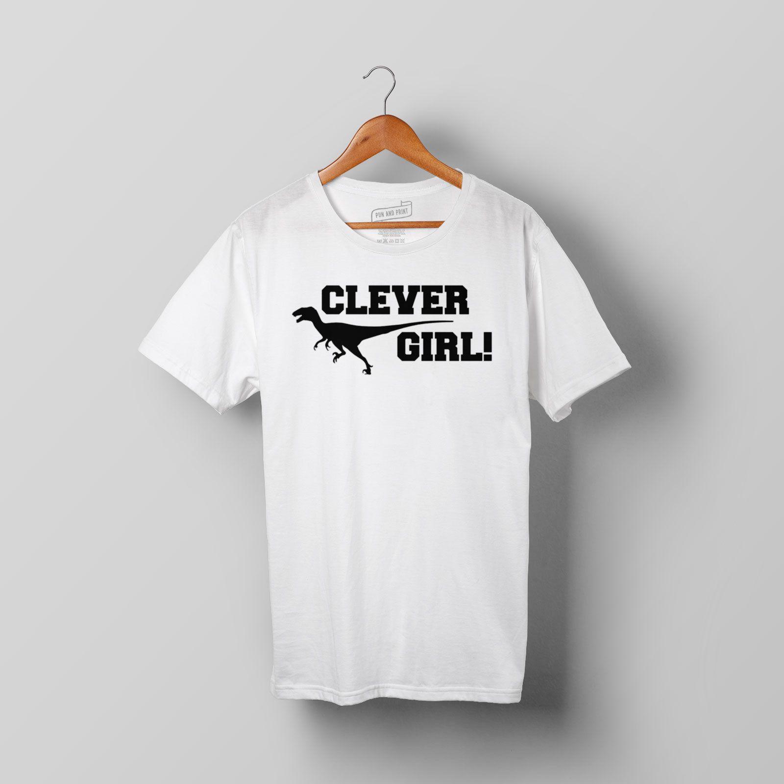 31817c622 Jurassic Park T Shirt Clever Girl! Dinosaur, Raptor, T Rex Cotton Tshirt Tee  T Good T Shirt Design From Beidhgate07, $11.01  DHgate.Com
