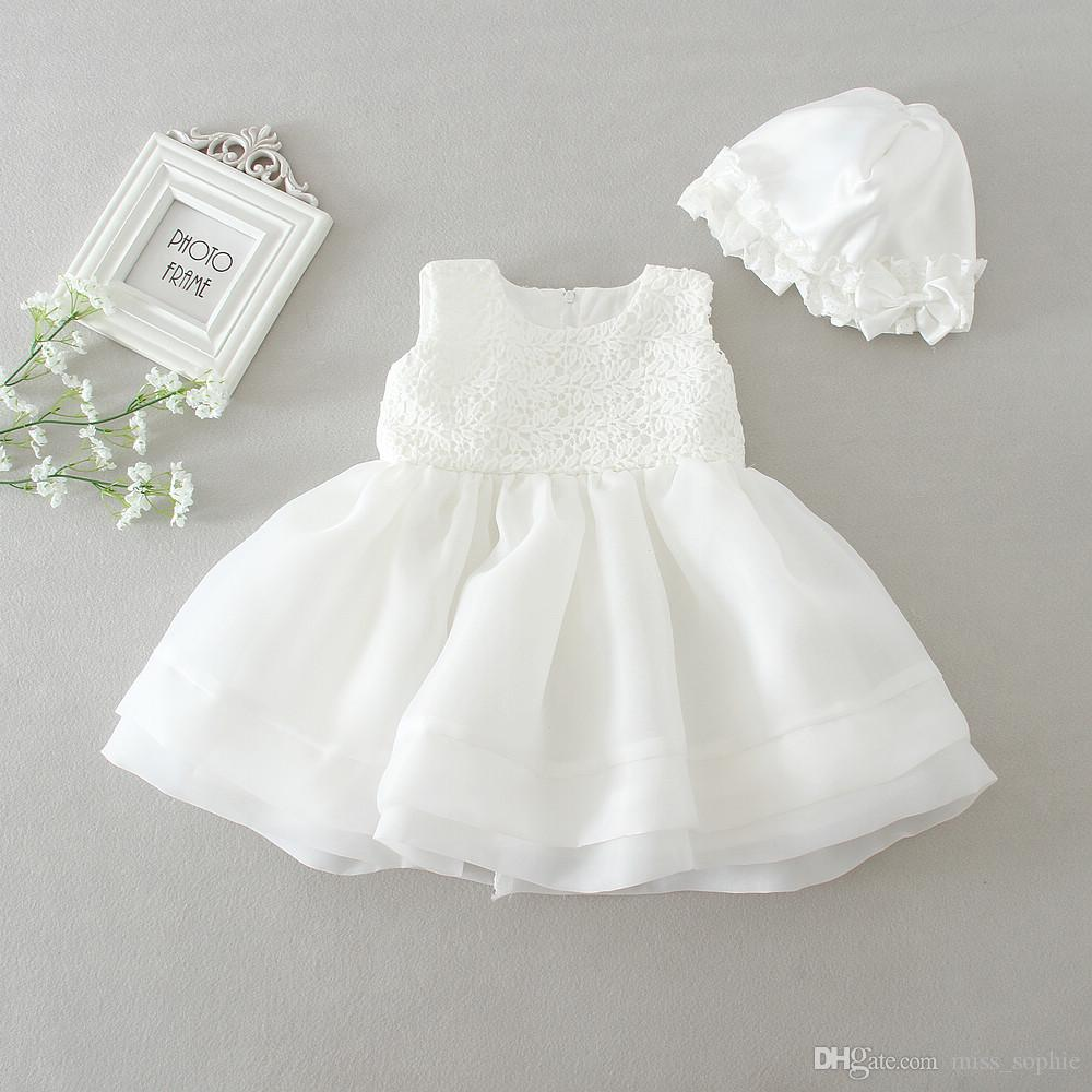 Compre Salida De Fábrica Bebé Niña Vestidos De Bautizo Vestido De Bautizo  Niñas Vestidos De Encaje Tulle Bebé Vestidos De Princesa Ropa De Boda Recién  ... a8363c1623b4