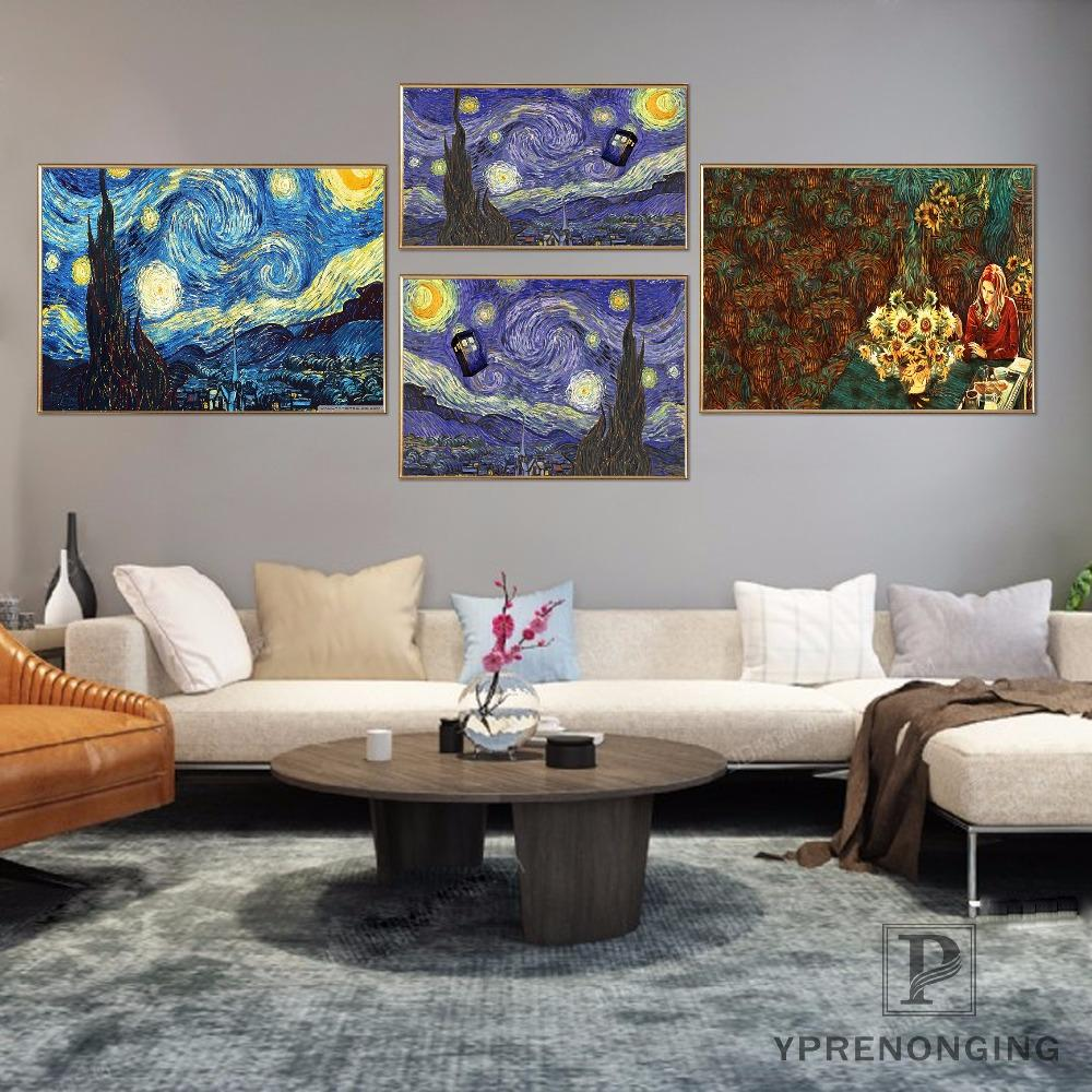 Latest Trend Paintings For Living Room 2019 Canvas Poster Silk Fabric New Arrive Doctor Who Poster Customized  Trends International Dr Who Rolled Room#180327 15 From Sophine09, $36.2 |  DHgate.Com